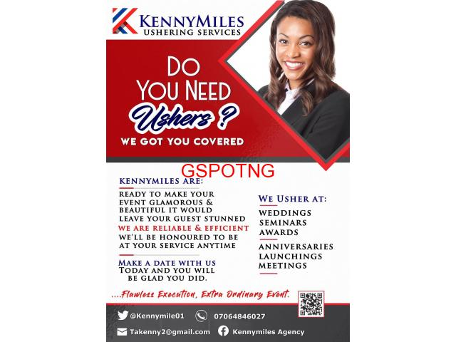 Kennymiles ushering services
