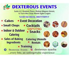 DEXTEROUS EVENTS